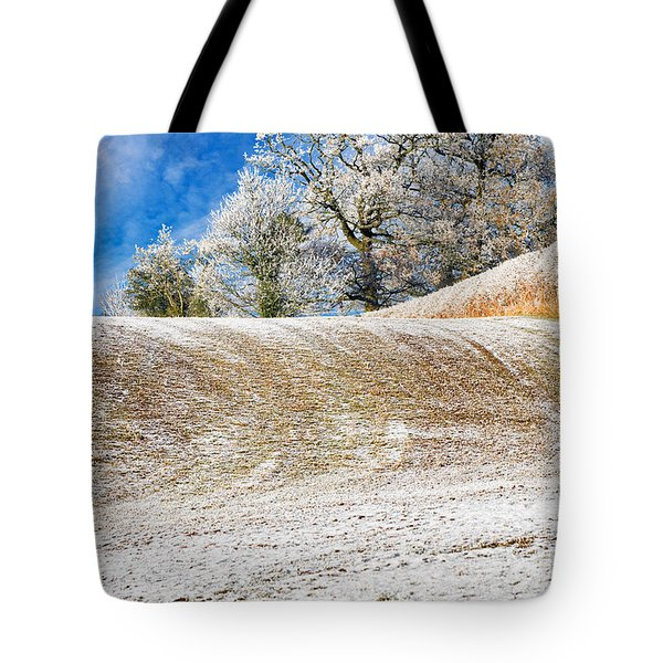 Winter Tote Bag by Meirion Matthias
