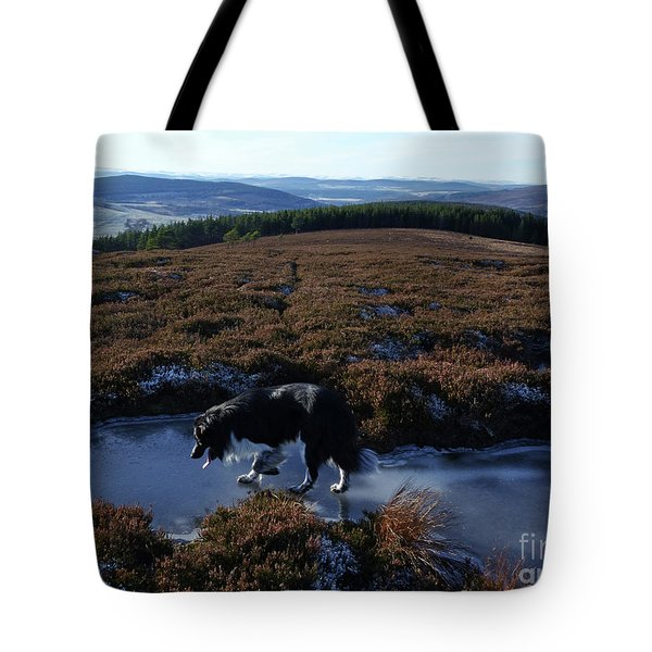 Winter Moorland Tote Bag