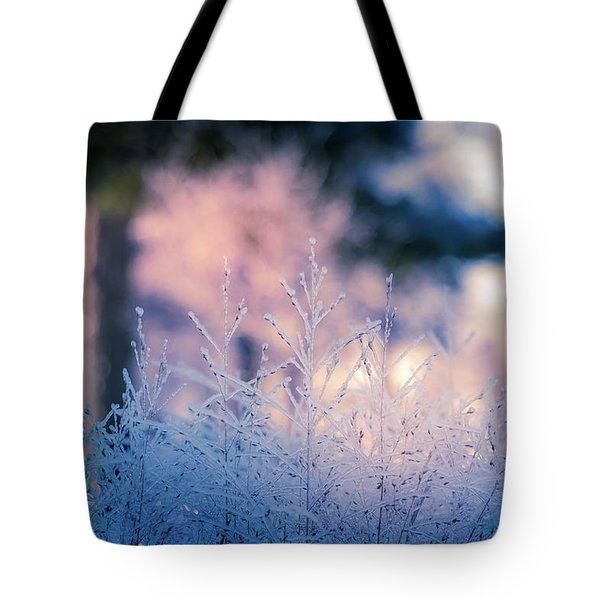 Winter Morning Light Tote Bag