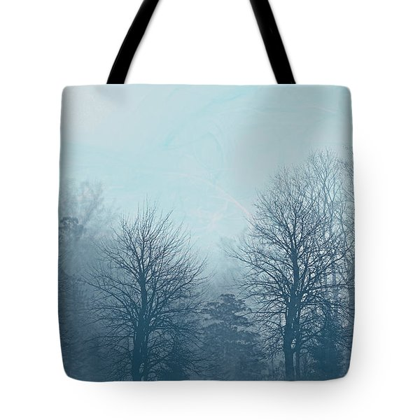Winter Morning Tote Bag by Milena Ilieva
