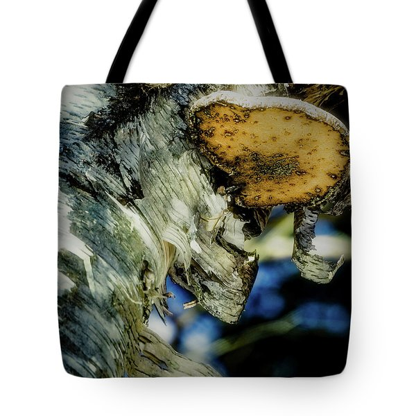 Winter Mushroom Tote Bag
