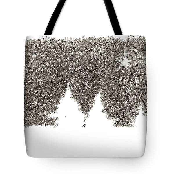 Winter Night - Aceo Tote Bag