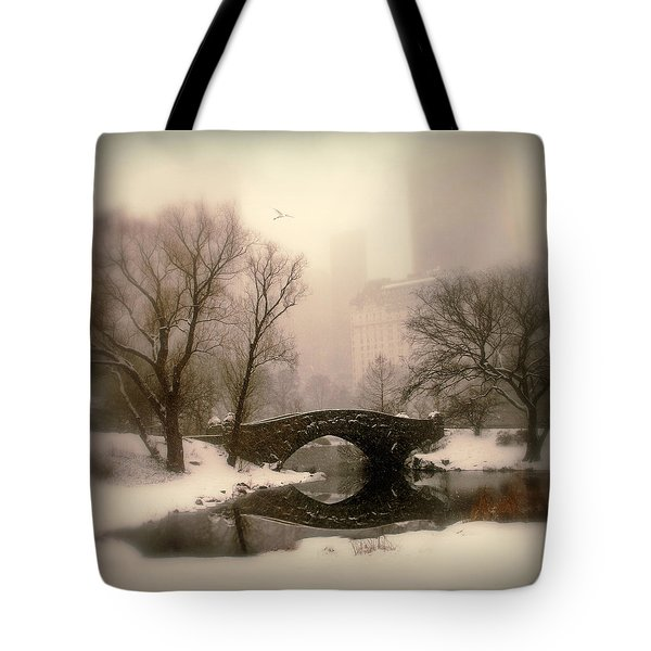 Winter Nostalgia Tote Bag