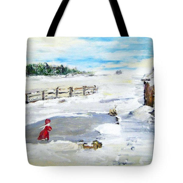 Winter Of Our Youth  Tote Bag