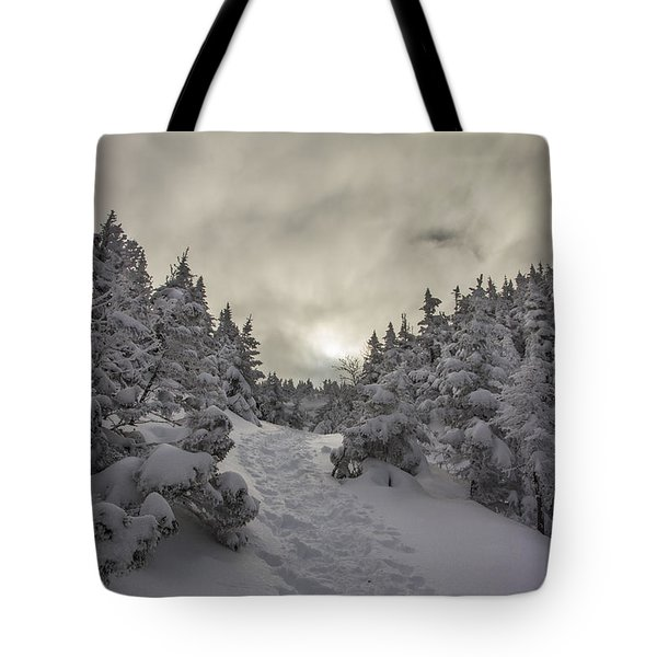 Winter On The Ammo Trail Tote Bag