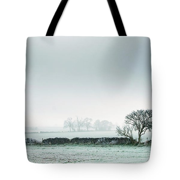 Winter On The Mendips Tote Bag