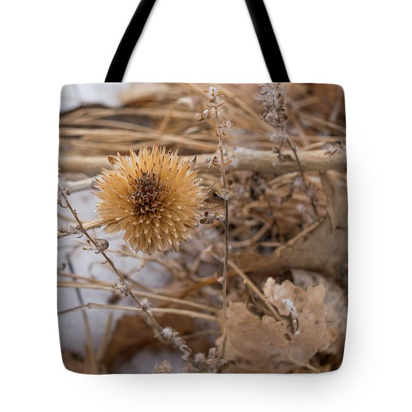 Winter On The Range Tote Bag
