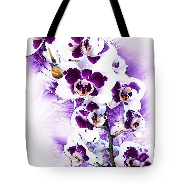Winter Orchid Tote Bag