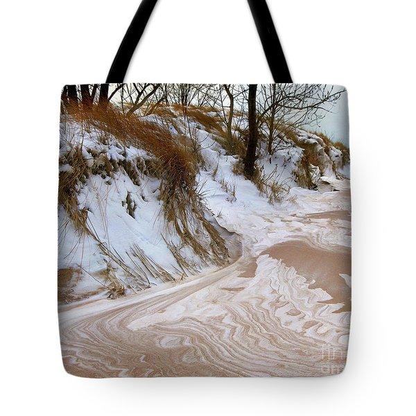 Winter Paints Tote Bag