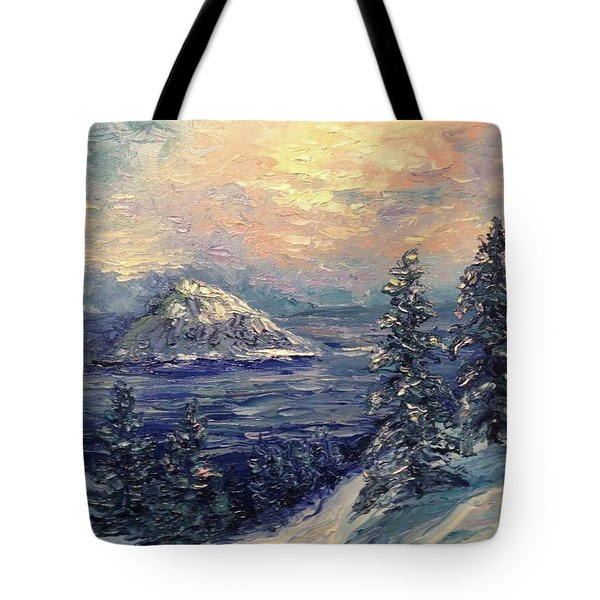 Winter Peace Tote Bag