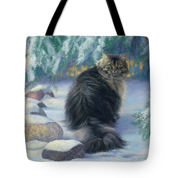 Winter Place Tote Bag