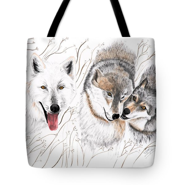 Winter Play Tote Bag