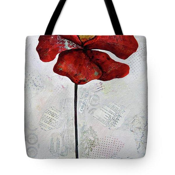 Winter Poppy I Tote Bag