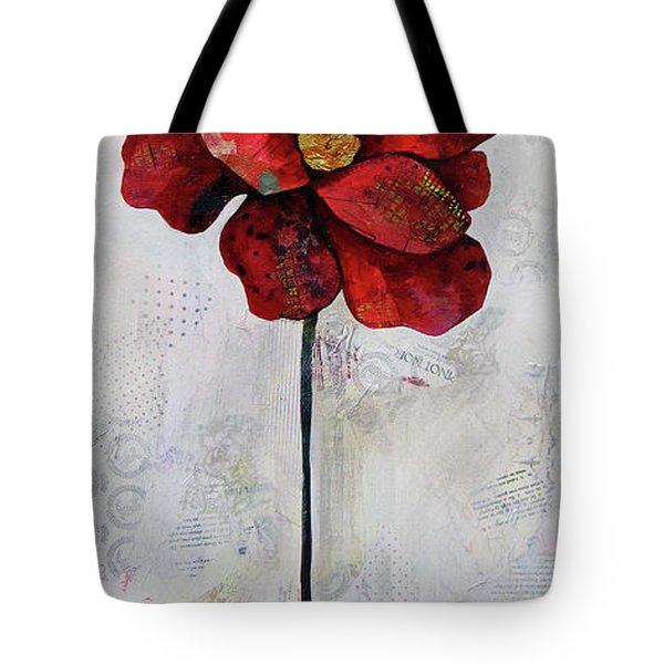 Winter Poppy II Tote Bag