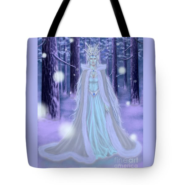 Winter Queen Tote Bag