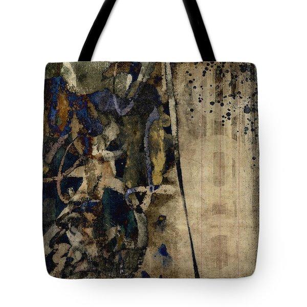 Winter Rains Series Five Of Six Tote Bag
