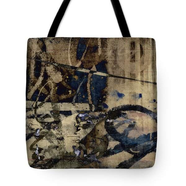 Winter Rains Series One Of Six Tote Bag