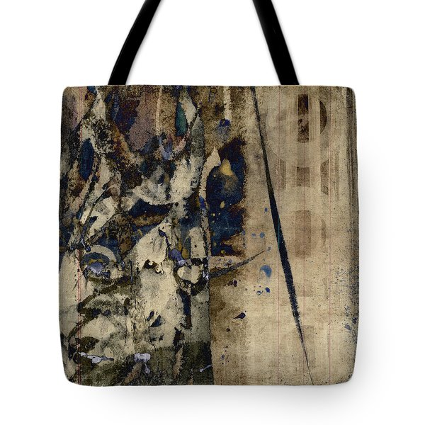 Winter Rains Series Six Of Six Tote Bag