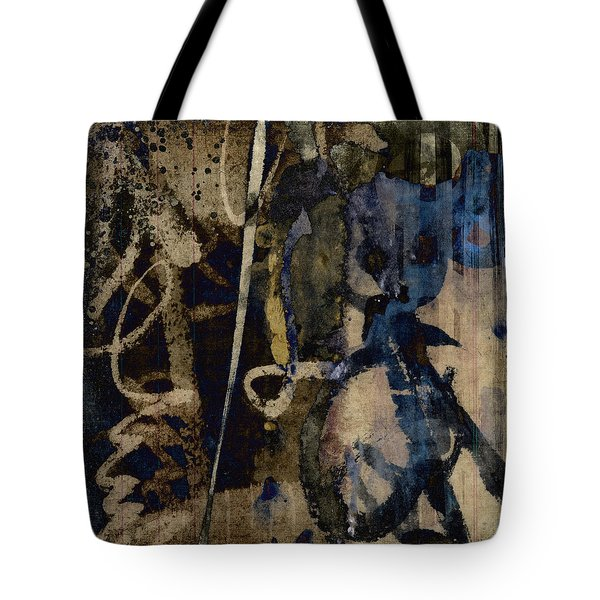 Winter Rains Series Three Of Six Tote Bag