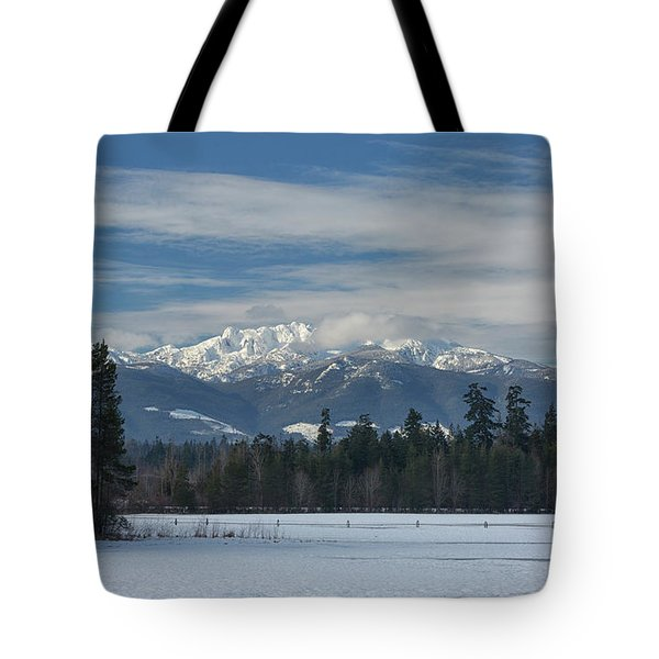 Tote Bag featuring the photograph Winter by Randy Hall