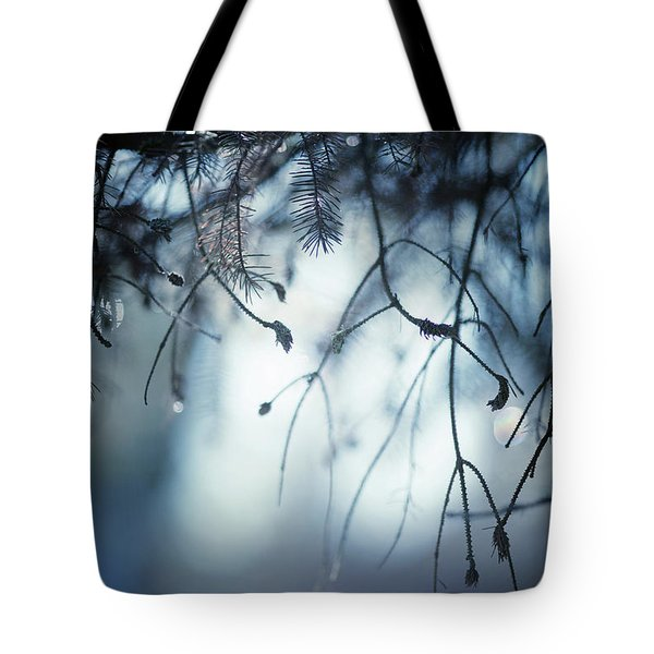 Tote Bag featuring the photograph Winter by Rebecca Cozart