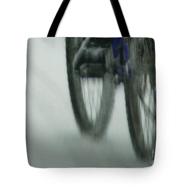 Winter Ride Tote Bag