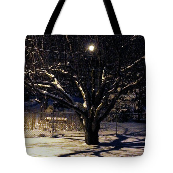 Winter Romace Tote Bag