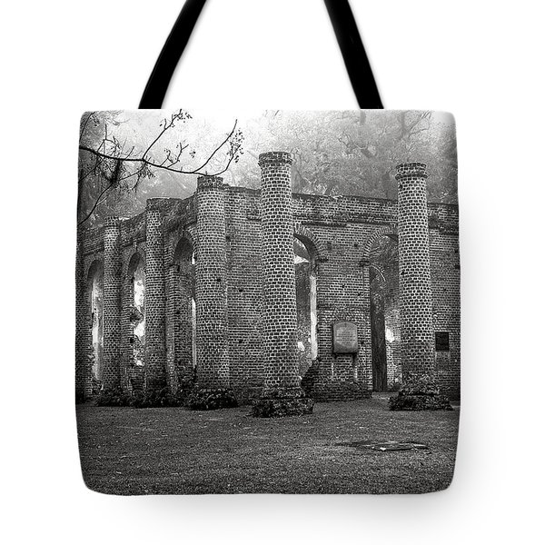 Winter Ruins Tote Bag