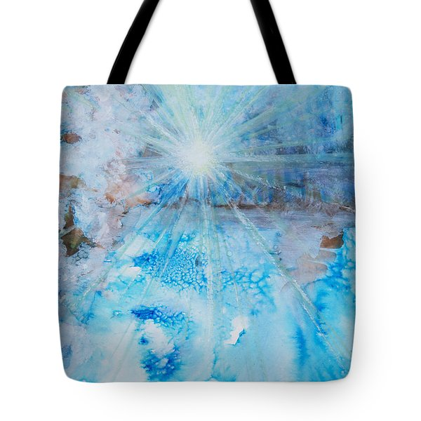 Winter Scene Tote Bag by Tara Thelen