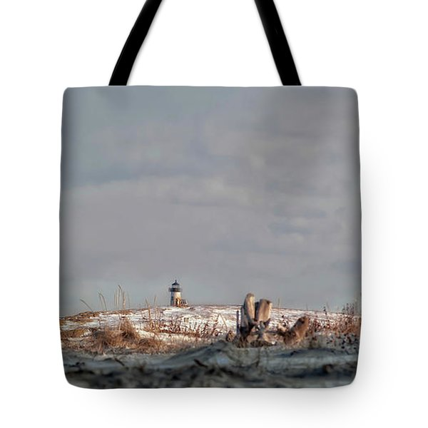 Winter Scented Sand Tote Bag