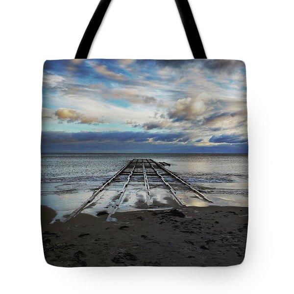 Winter Sea Tote Bag