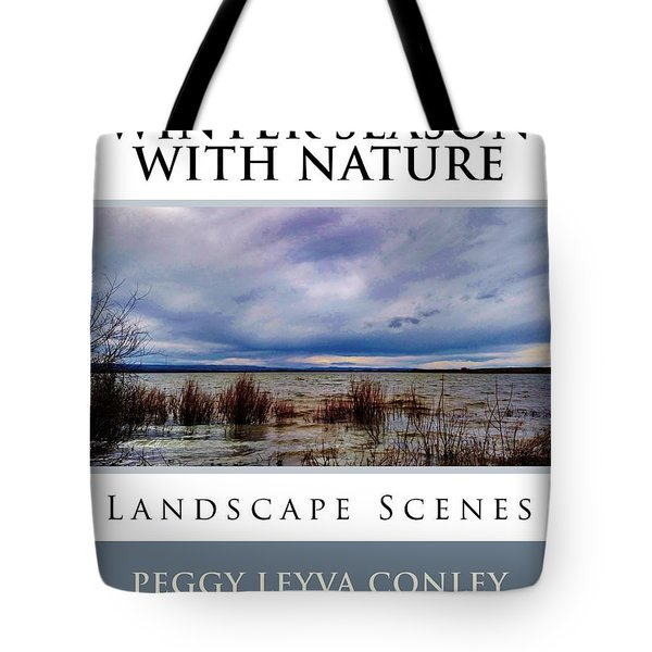 Winter Season With Nature Tote Bag