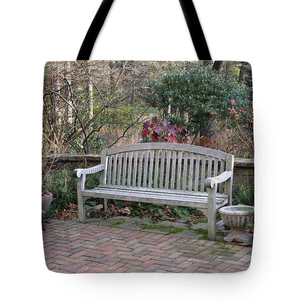 Winter Seating Tote Bag
