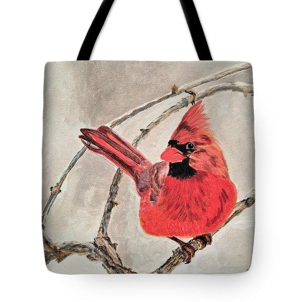 Winter Sentinal Tote Bag