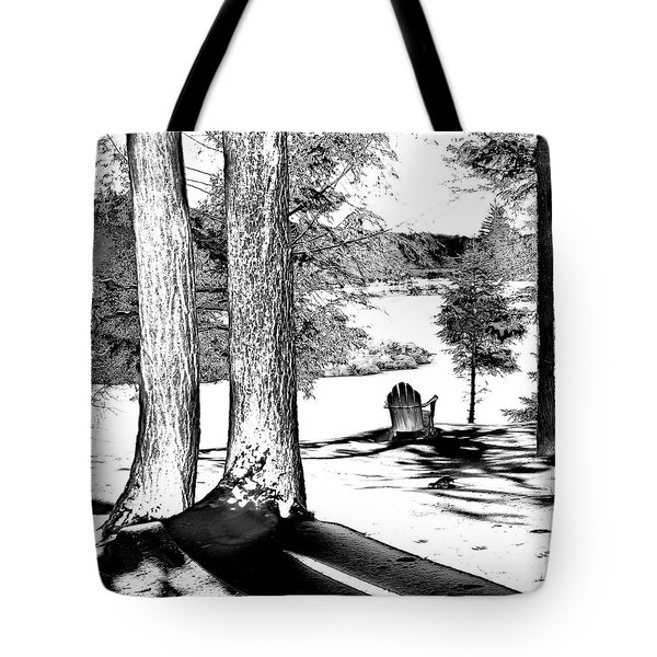 Tote Bag featuring the photograph Winter Shadows by David Patterson