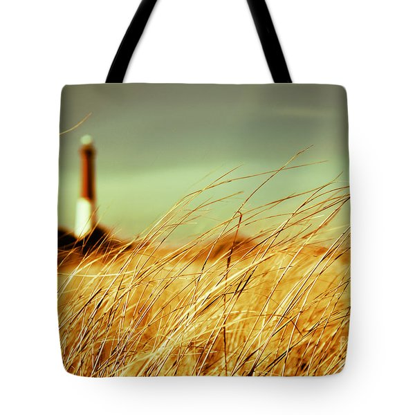 Winter Shore Breeze Tote Bag