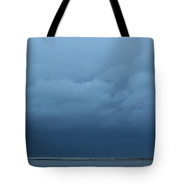Tote Bag featuring the photograph Winter Sky by Jeanette French