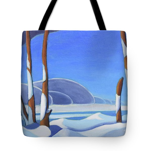 Winter Solace II Tote Bag