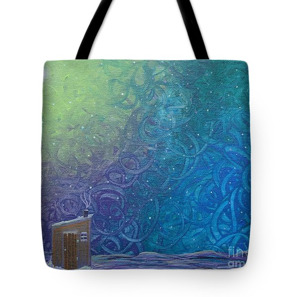 Winter Solitude 2 Tote Bag by Jacqueline Athmann