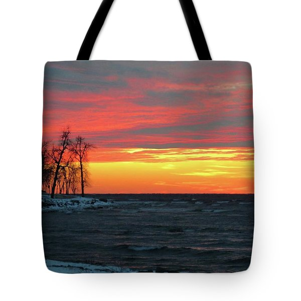 Winter Solstice Eve Tote Bag