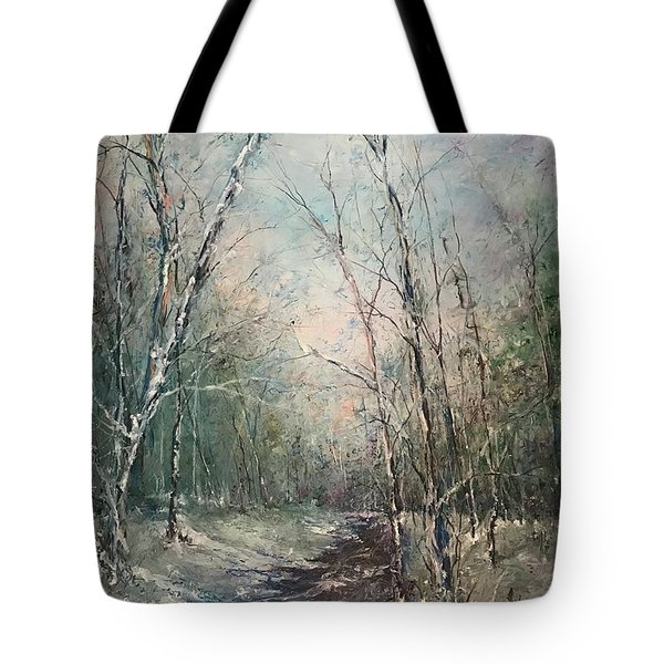 Winter Sojourn Tote Bag