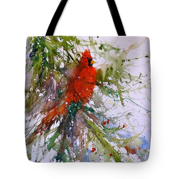 Winter Song Tote Bag