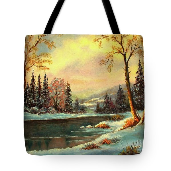 Winter Splendor Tote Bag
