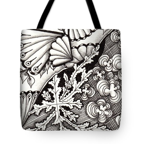 Winter Spring Summer 'n Fall Tote Bag by Jan Steinle