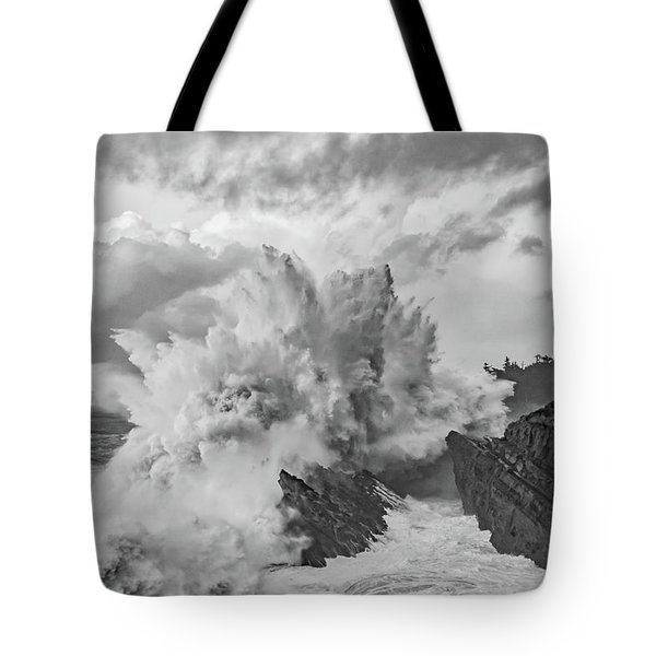 Winter Storms Tote Bag