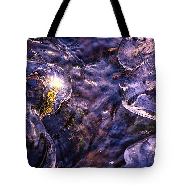Winter Streams Tote Bag