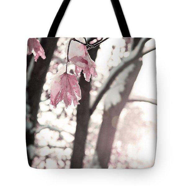 Winter Sunrise Tote Bag by Brooke T Ryan