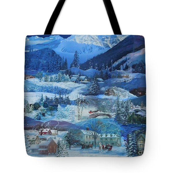 Winter Sunrise Tote Bag
