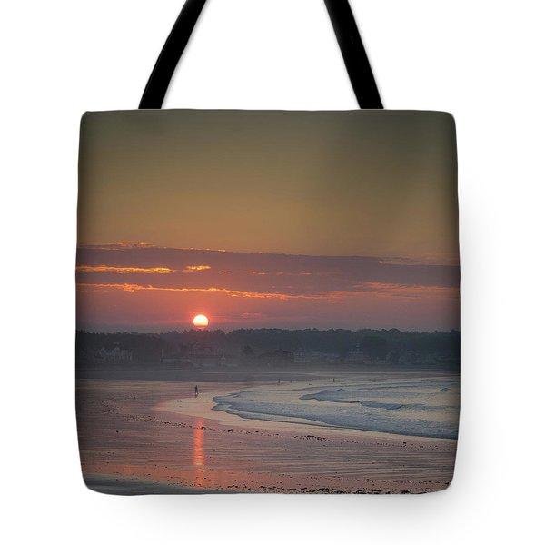 Winter Sunrise - Kennebunk Tote Bag