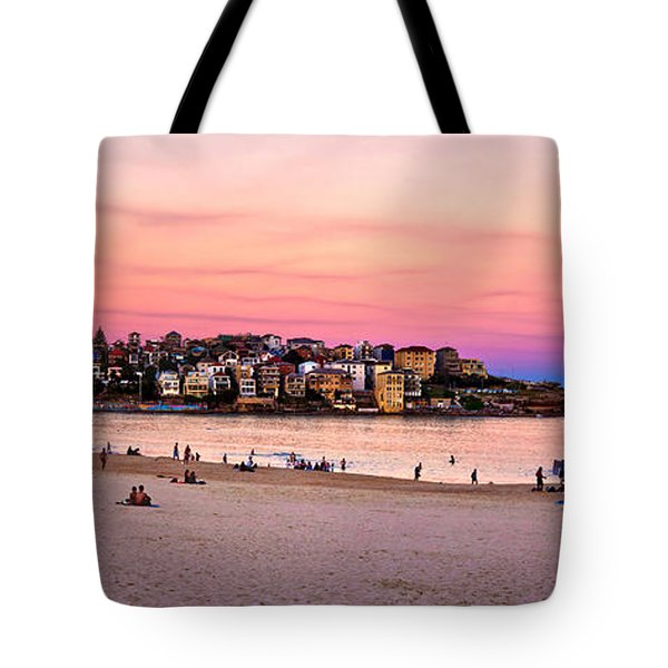 Winter Sunset Over Bondi Tote Bag